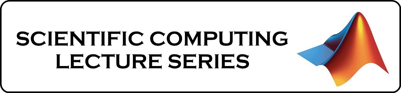 Scientific Computing Lecture Series